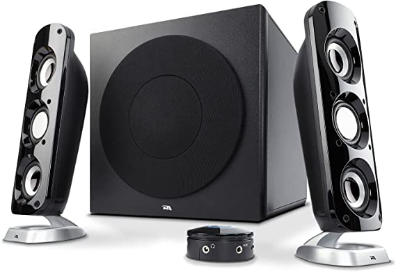 Cyber Acoustics CA-3908 2.1 Stereo Speaker System with 6.5