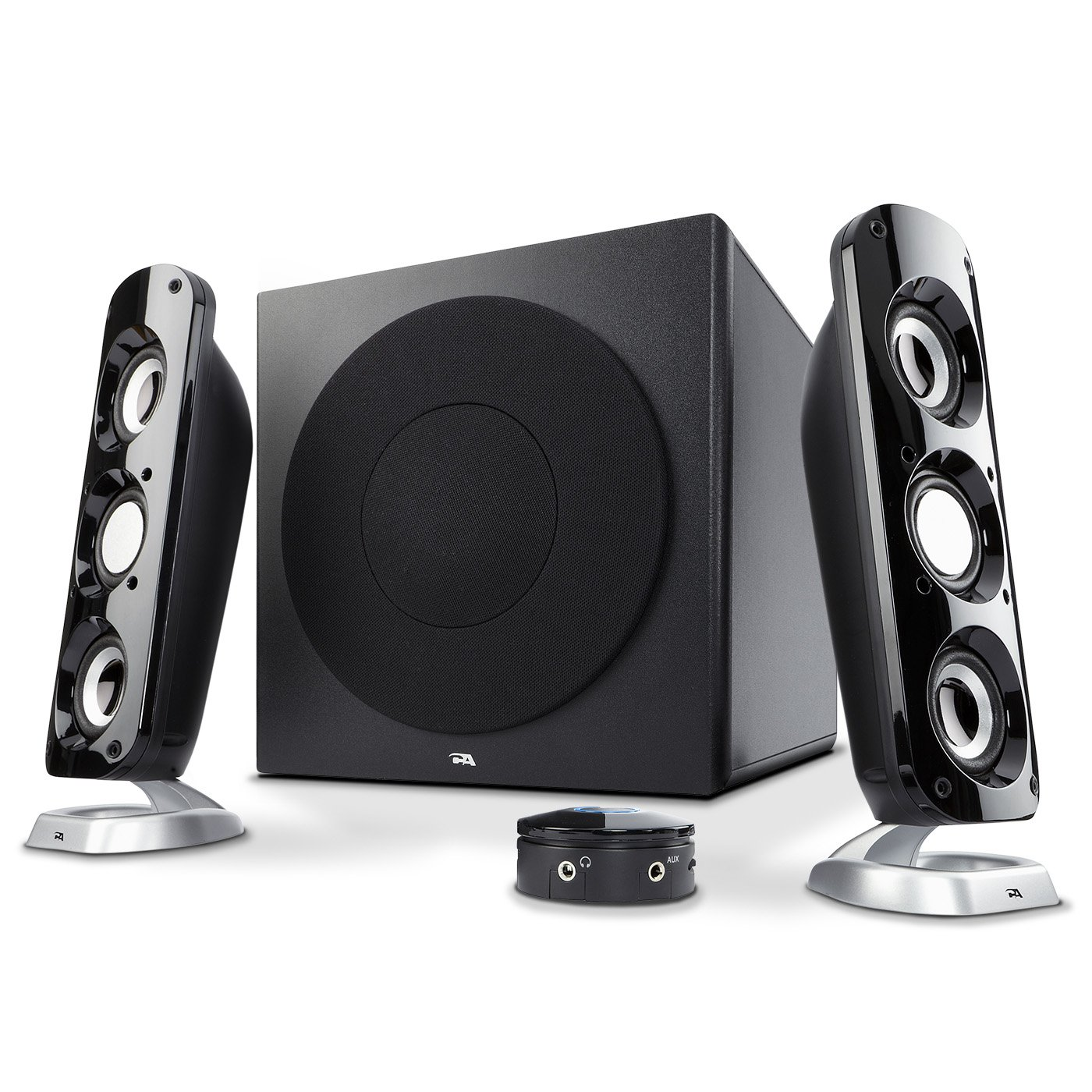 Cyber Acoustics CA-3908 46 Watt 2.1 Speaker System
