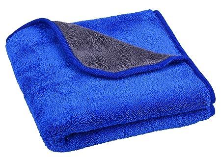 Mayouth - Toallas de Microfibra para Limpieza de Coches, superabsorbentes, de Felpa, Gruesas, para pulir el Coche, 600 g/m²: Amazon.es: Coche y moto
