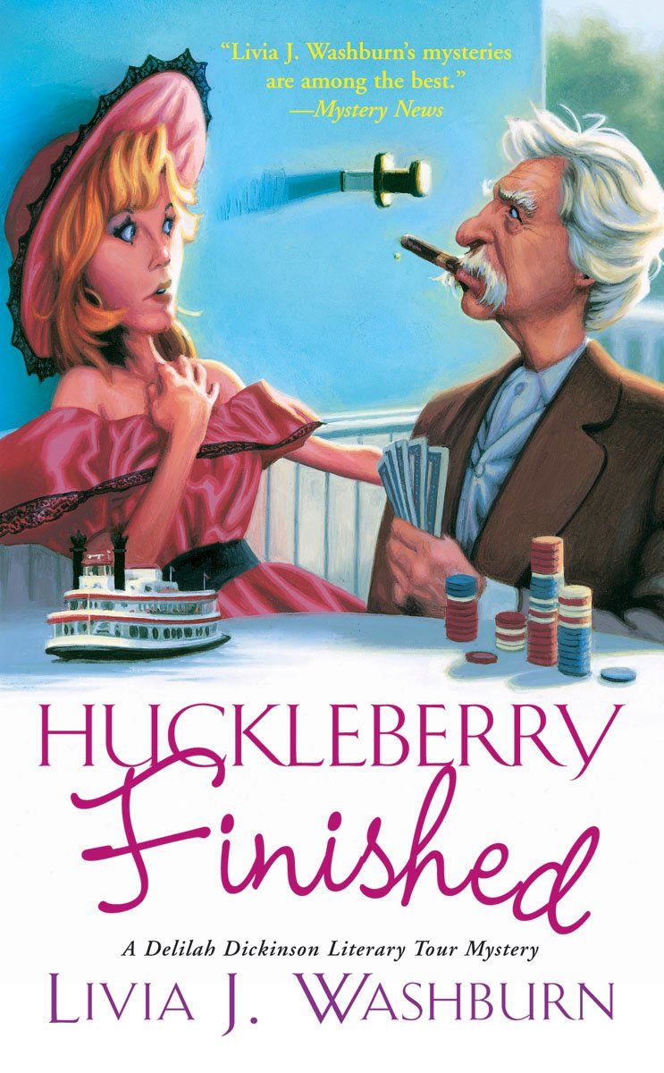 Download Huckleberry Finished (Delilah Dickinson Literary Tour Mysteries) pdf epub