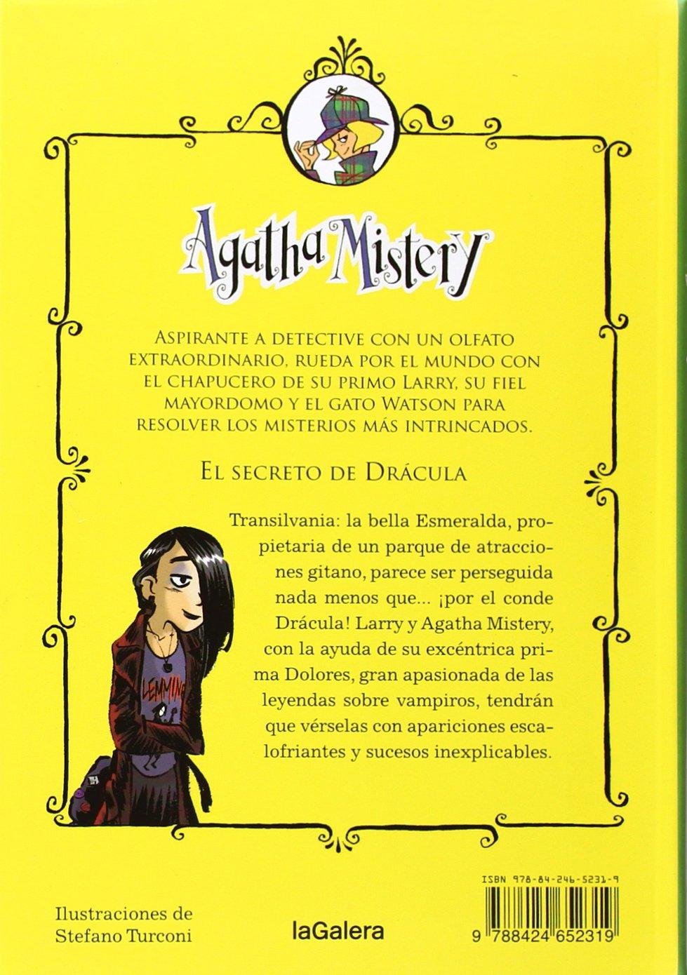 Agatha Mistry: El secreto de drácula # 15 (Spanish Edition): Sir Steve Stevenson, La Galera, Stefano Turconi: 9788424652319: Amazon.com: Books