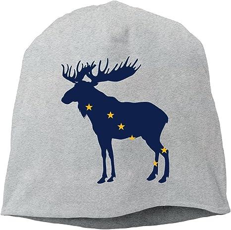 Go Ahead boy Unisex Cartoon Moose Classic Fashion Daily Beanie Hat Skull Cap