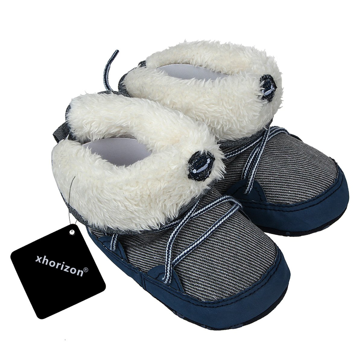 xhorizon TM FL1 Baby Boys Warm Winter Toddler Boots Shoes