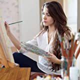 Oil Acrylic Watercolor Paint Brushes 100% Natural