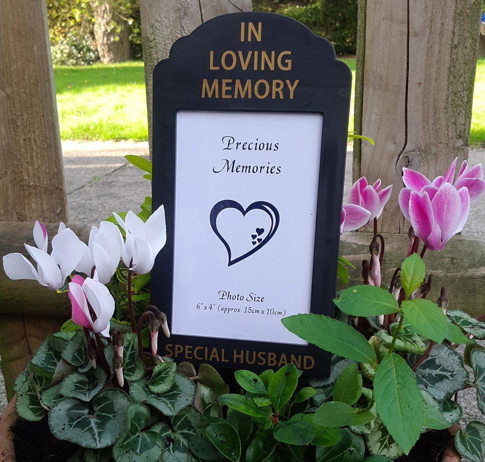 In Loving Memory Special Brother 6 x 4 Photo Frame Holder Memorial Grave Spike By David Fischhoff