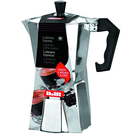 Amazon.com: Ibili Bahia Aluminium Espresso Coffee Maker ...