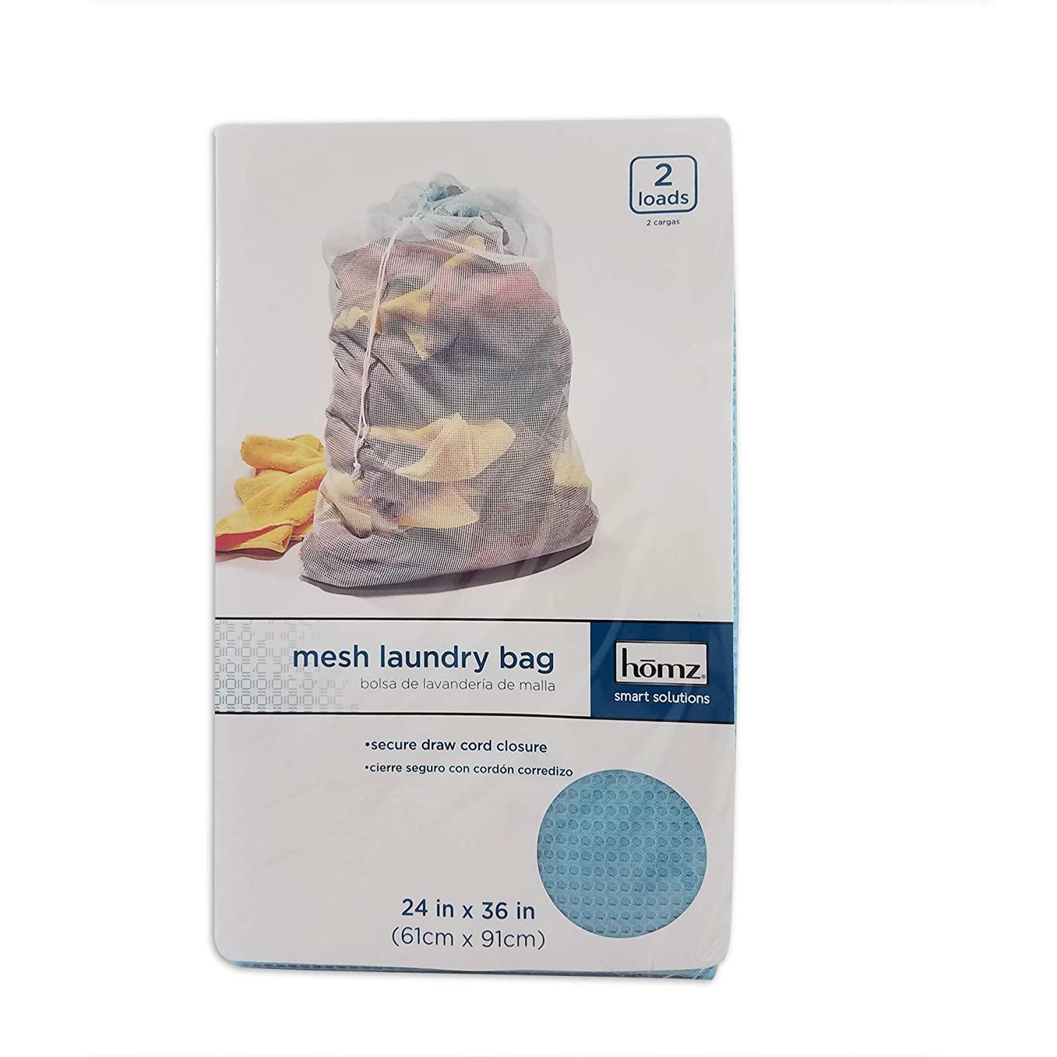 and Lazy Lime Home Products International 1220229DC.12 Sandstone White//Green//Sky Deep Blue Set of 12 Mesh Laundry Bag 24 x 36 Sea 2 Load Capacity Homz Assorted Colors