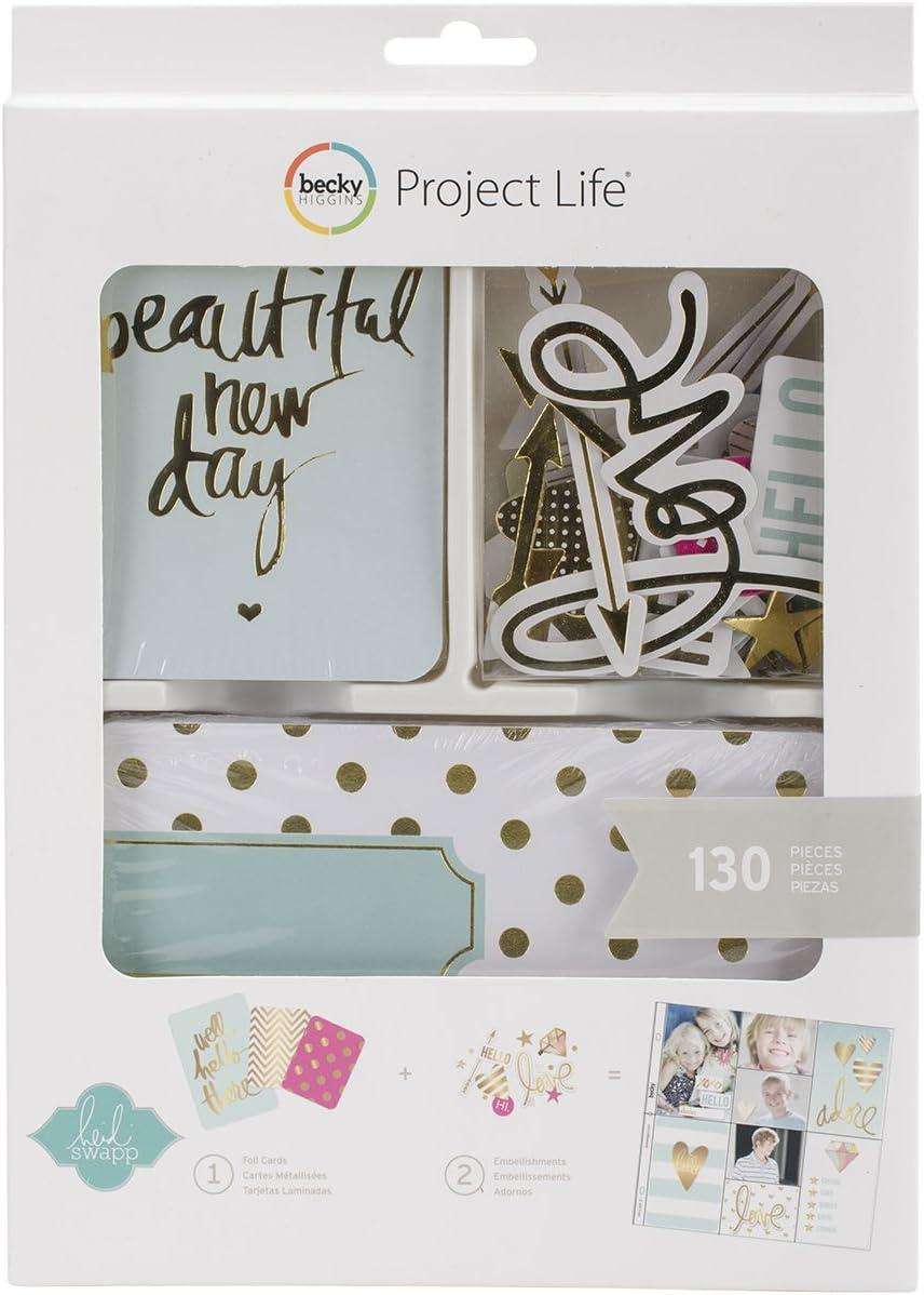 American Crafts Project Life Mini Kit 25.4 x 18.03 x 2.0299999999999998 cm Multicolor no aplicable