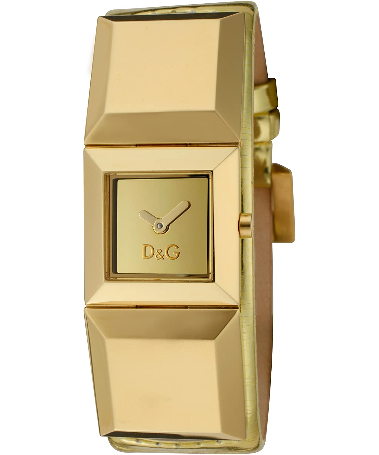 Amazon.com: Dolce & Gabbana D&G Time Watch DANCE DW0271/DW0273, Color:  Gold-Coloured, Size: One Size: Dolce & Gabbana: Watches