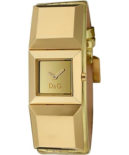 D&G Dolce&Gabbana Damen-Armbanduhr DANCE LDY IPG GOLD DIAL GOLD STRAP DW0273