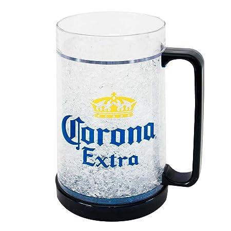 Corona Extra Taza de Cerveza fría Corona congelar escarchado ...