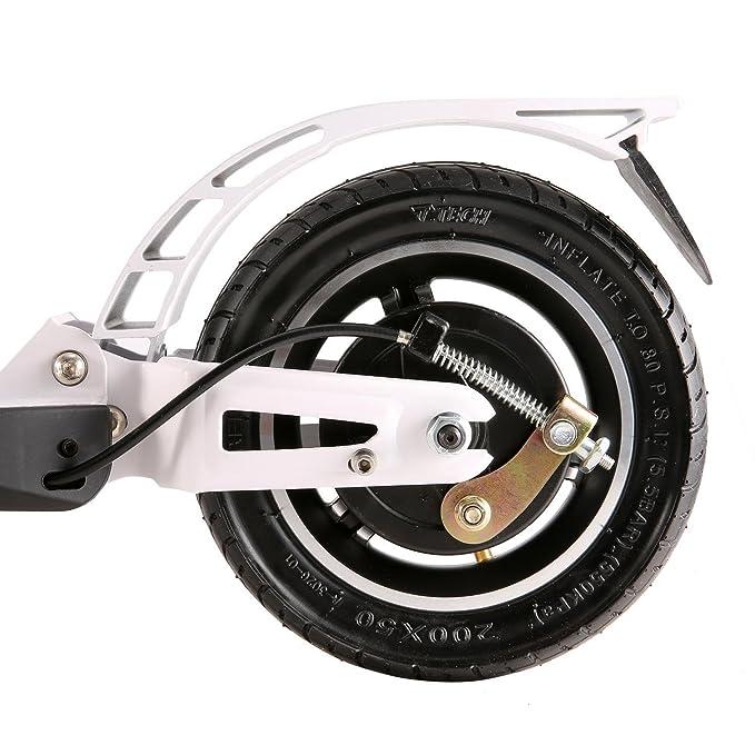 cooshional Patinete Scooter Eléctrico Plegable con Batería de Litio 250W, Unisex Adulto, 2 Ruedas