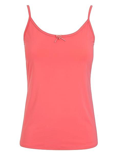 Jockey - Chaleco - Básico - Clásico - para Mujer Rojo Fresh Coral Medium