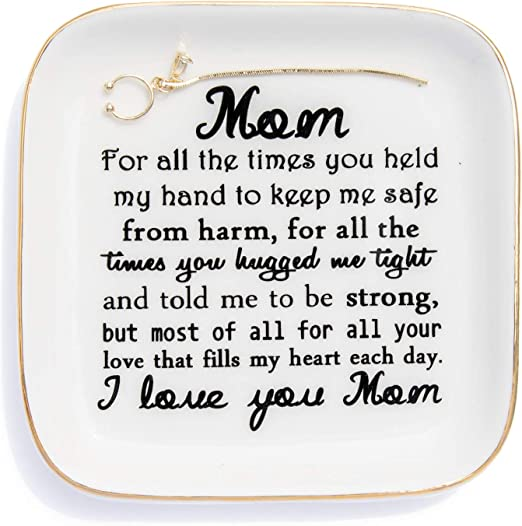 First My Mother Forever My Friend Birthday Gift Gold Ring Dish Unique Gift for Mom Gift for Her Mothers Day Gift Rose Gold Mom Gift