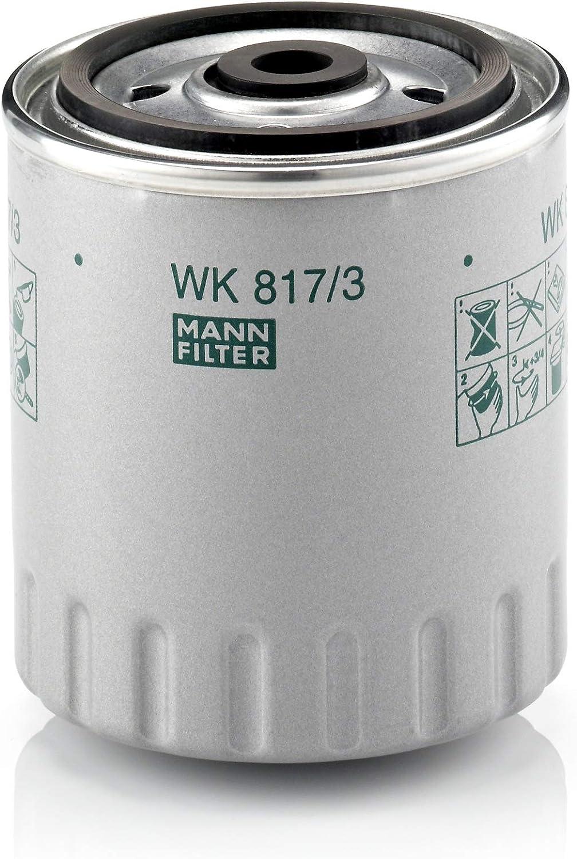 Original Mann Filter Kraftstofffilter Wk 817 3 X Kraftstofffilter Satz Mit Dichtung Dichtungssatz Für Nutzfahrzeug Auto