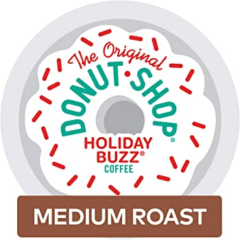 The Original Donut Shop 96-Ct Single-Serve K-Cup Pods Holiday Buzz Coffee