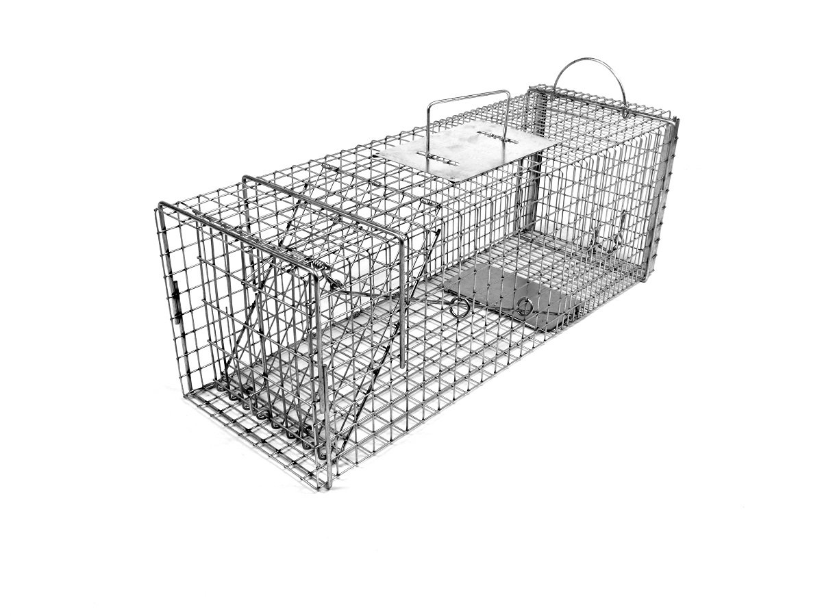 Tomahawk Original Series Rigid Trap with Easy Release Door for Cats and Rabbits by Tomahawk Live Trap