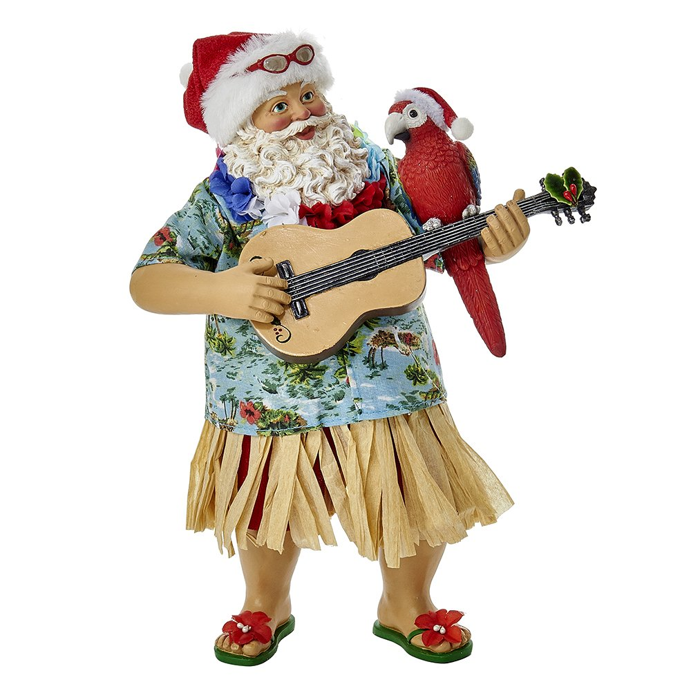 Kurt Adler 11 Fabriche Beach Santa