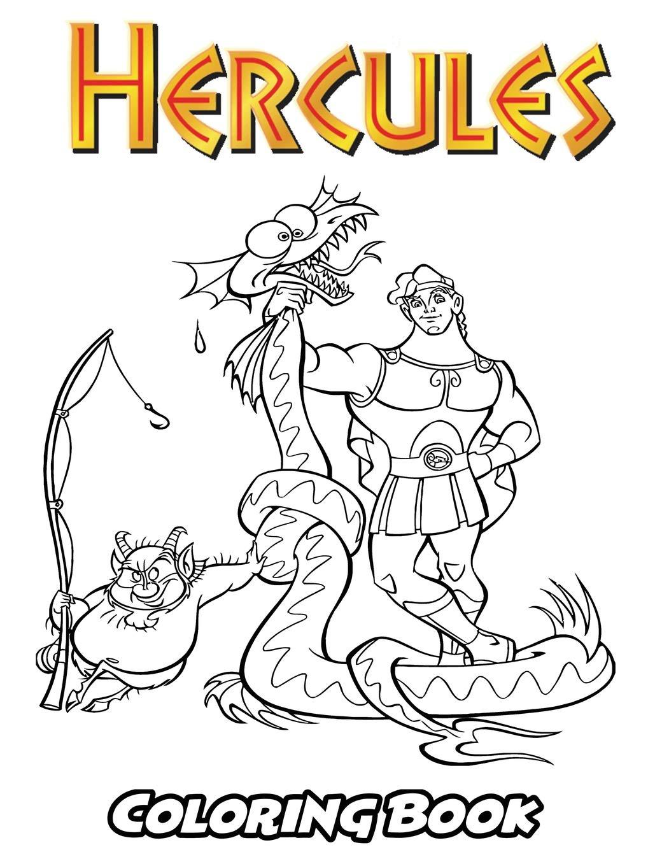 Amazon Com Hercules Coloring Book Coloring Book For Kids