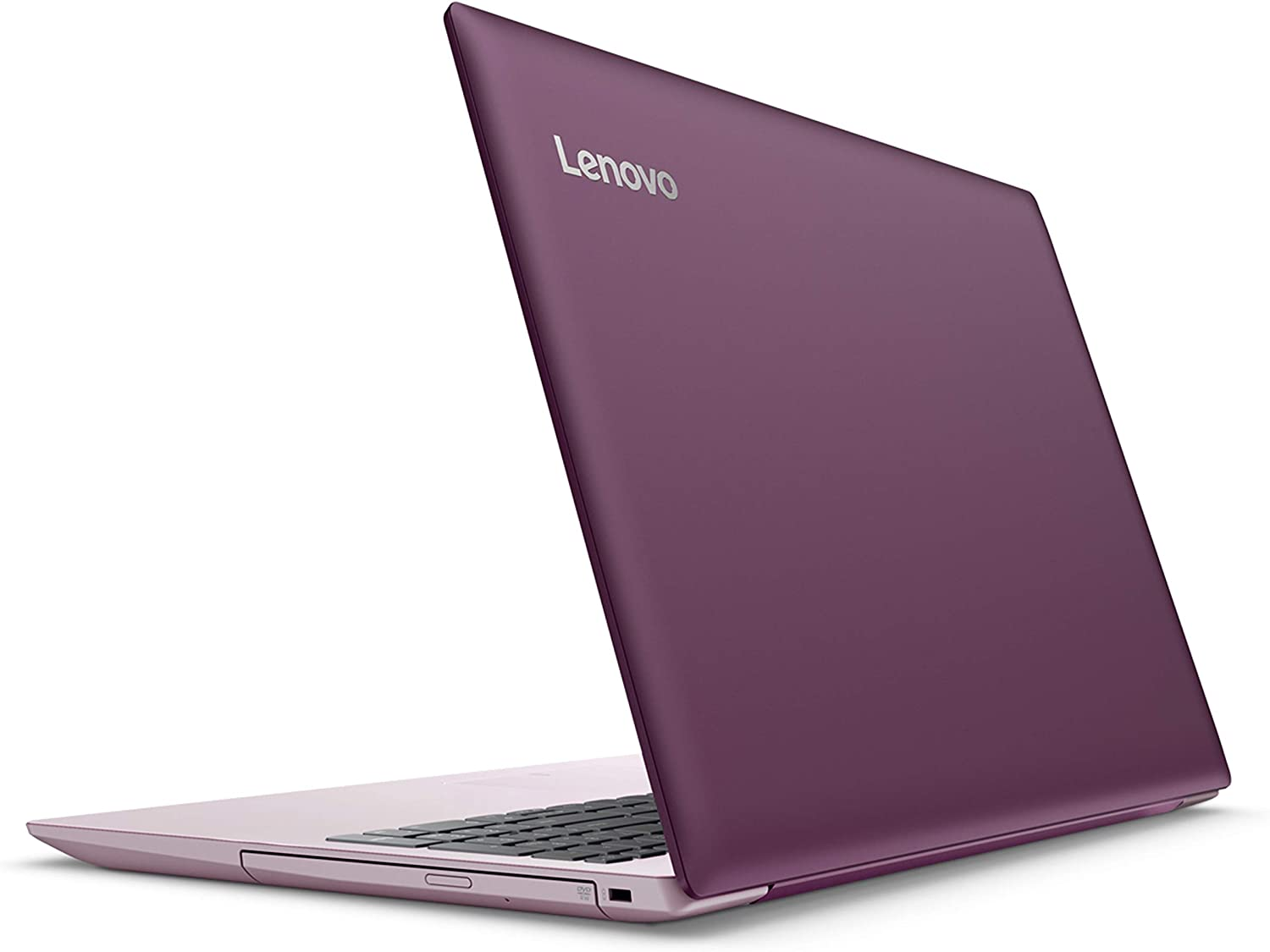 "2018 Lenovo ideapad 320 15.6"" LED-backlit Display Laptop, Intel Celeron N3350 Dual-Core Processor, 4GB RAM, 1TB HDD, DVD-RW, WIFI, Bluetooth, HDMI, Intel HD Graphics 500, Windows 10, Purple"