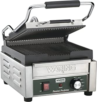 Waring Commercial WPG150 Compact Italian-Style Panini Grill