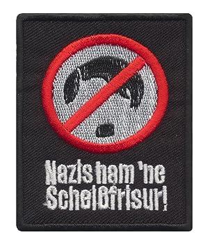 Nazis Ham Ne Scheiss Frisur Aufnaher Aufbugler Deutschland