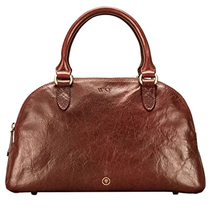 Maxwell Scott® Luxury Italian Leather Women s Bowling Bag (LilianaS ... 09a80c06ad129