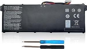 48Wh AC14B8K 4ICP5/57/80 Laptop Battery Fit for Acer Chromebook CB3-531 CB5-571 Aspire R3-131T R5-571T R7-371T Swift SF314-51 Nitro 5 AN515-51 AN515-52 AN515-53 Gateway NE511 - Shareway