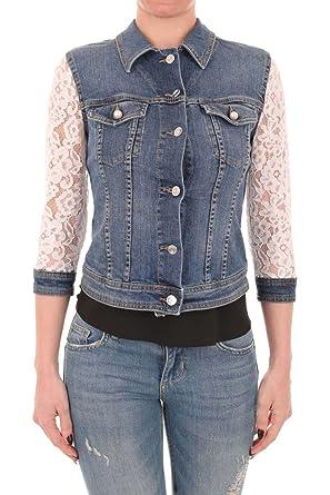info for 12dc6 ca3fb Liu Jo U18034D4192 Jacket Woman Jeans S: Amazon.co.uk: Clothing