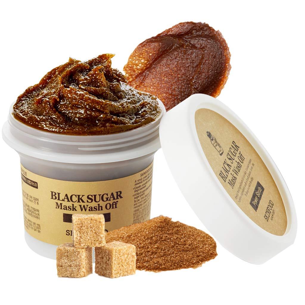 SKIN FOOD Black Sugar Mask Wash Off 3.52 fl. oz.(100g)