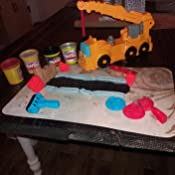 Amazon Com Play Doh Diggin Rigs Power Crane Toys Amp Games