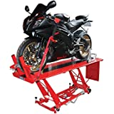 HYDRAULIC LARGE SIZED MOTORCYCLE WORKSHOP TABLE LIFT 400kg Lifting Capacity