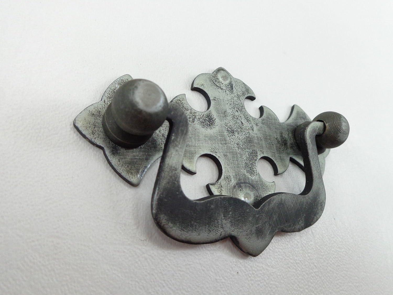 M/öbelgriffe SCHMIEDEEISEN Bohrlochabstand 64 mm Kl/öppelgriffe H/ängegriffe