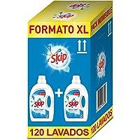 Skip Active Clean Detergente Líquido para Lavadora - Paquete de 2 x 60 lavados - Total: 120 lavados