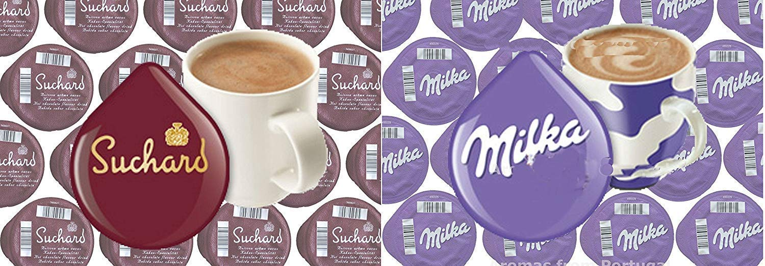 Tassimo Suchard Milka Hot Chocolate 20 T Discs Each 40 T