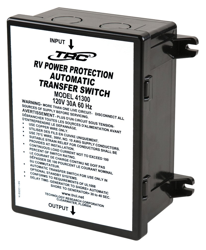 Technology Research 41300 30 Amp Transfer Switch by Technology Research