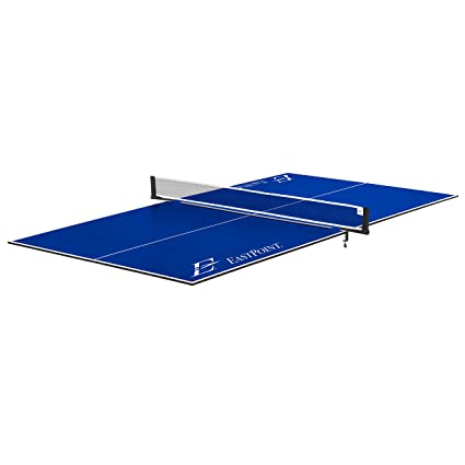 Astounding Eastpoint Sports Foldable Table Tennis Conversion Top Features No Assembly Easy Storage And Complete With Net Post Set Home Interior And Landscaping Oversignezvosmurscom