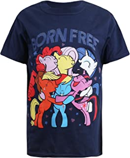 Hasbro Born Free, T-Shirt Bambina My Little Pony RBGTS126