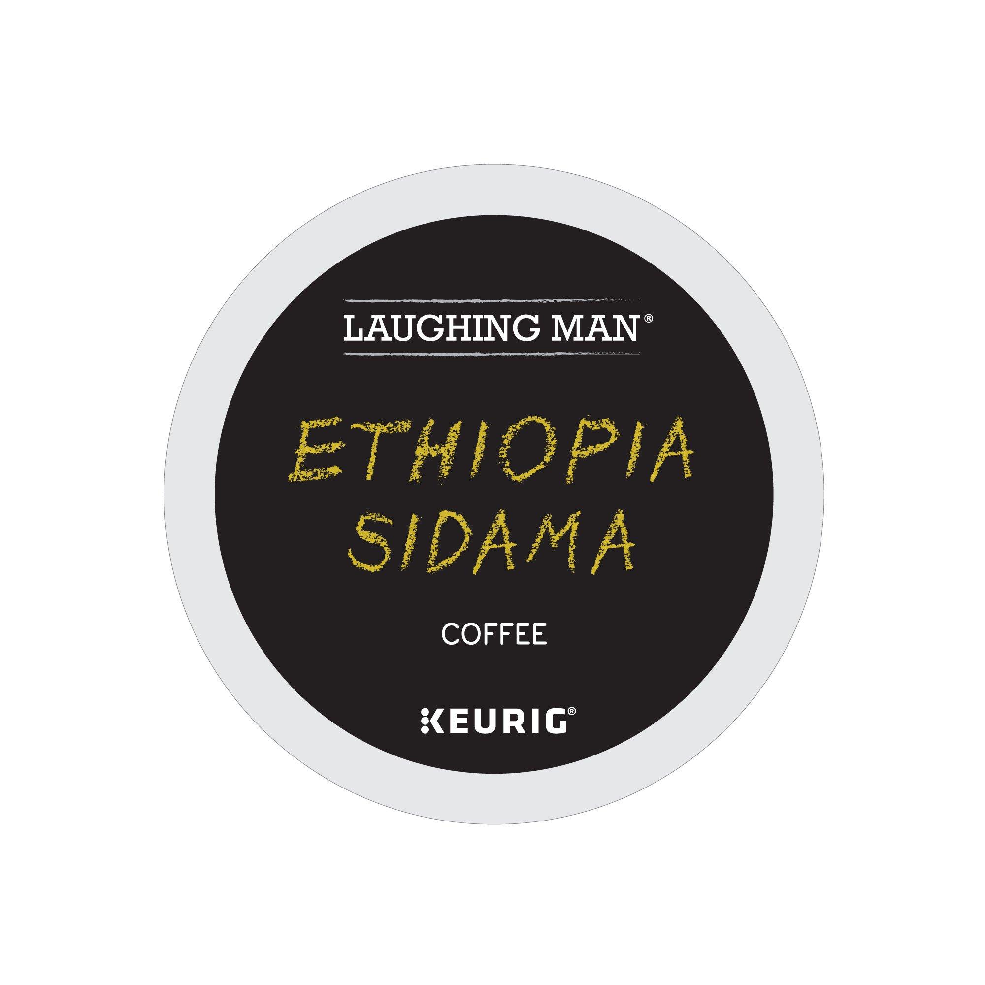 Laughing Man Coffee Logo