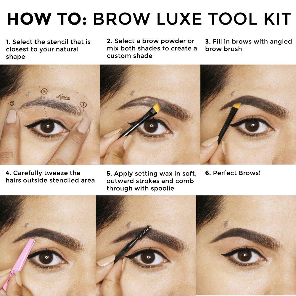 Amazon Brow Luxe Tool Kit Beauty