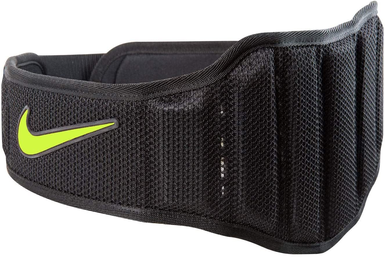 Nike Structured Training Belt 2.0, Small, Black Volt