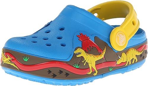 crocs Kids 16191 Dino Light-Up Clog