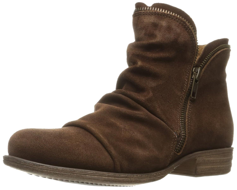 Miz Mooz Women's Luna Ankle Boot B01EI0ZK9I 7 B(M) US|Brown Suede