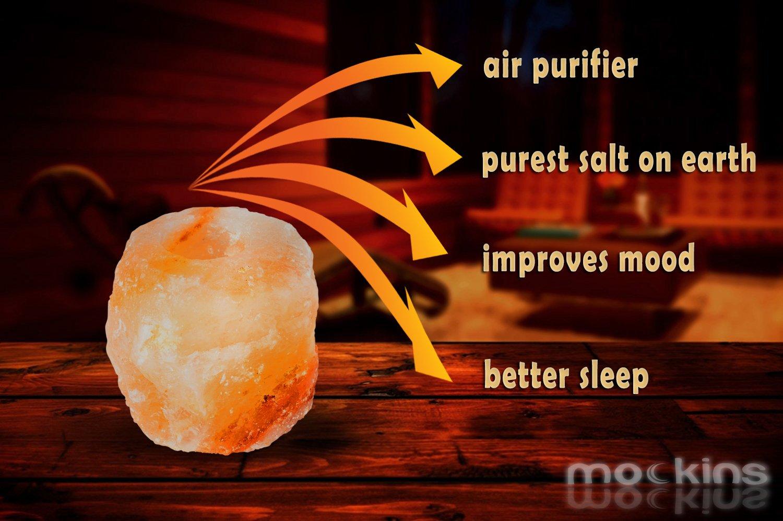Mockins 6 Pack Natural Himalayan Salt 2.5-lbs Tea Light Holder … by Mockins (Image #7)