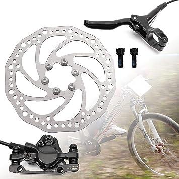 Hamimelon Rotor de Freno de Disco de 160 mm Juego de Frenos de Disco hidráulicos para Bicicleta de Montaña BMX MTB: Amazon.es: Deportes y aire libre