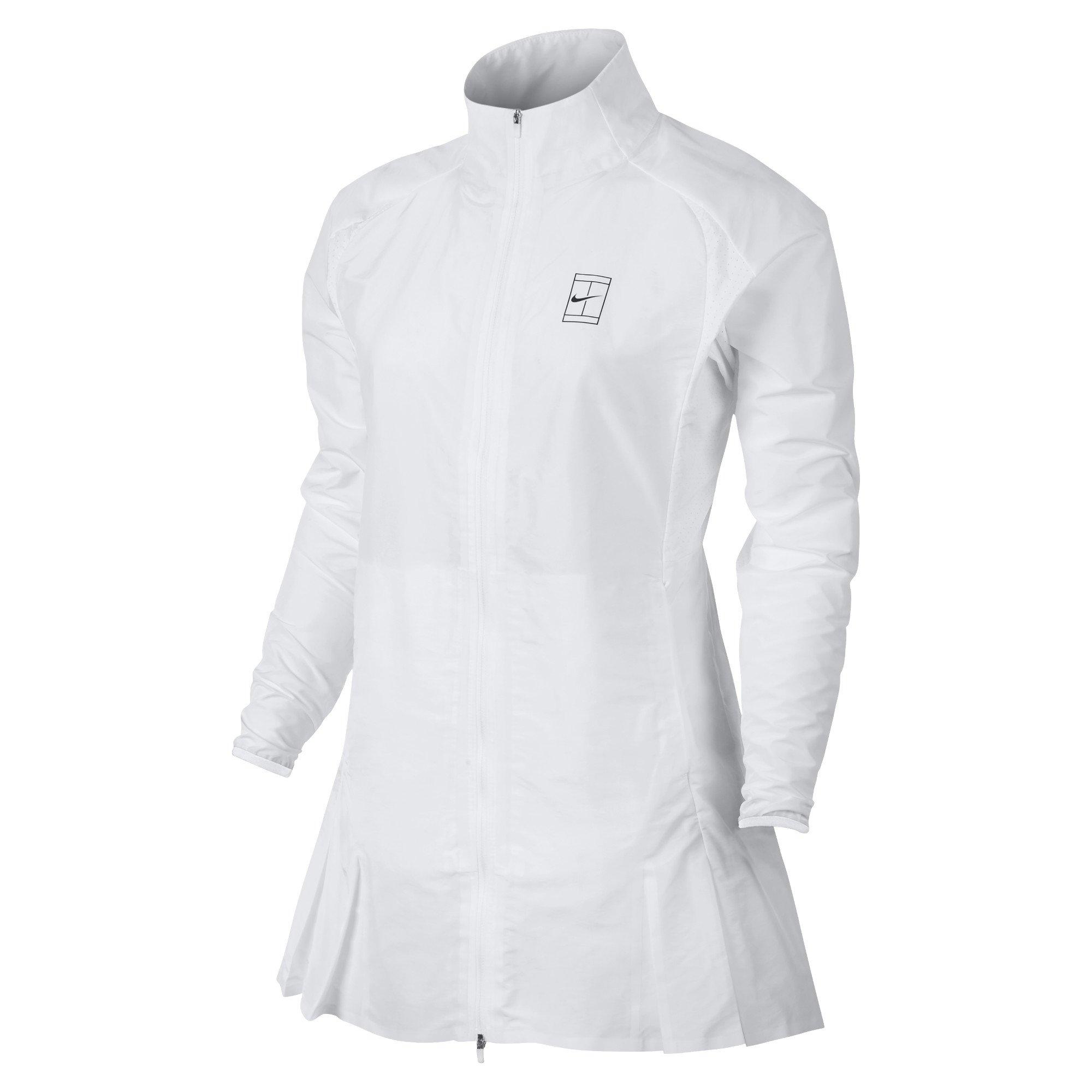 Nike Court Women's Tennis Jacket (Small, White/Black)