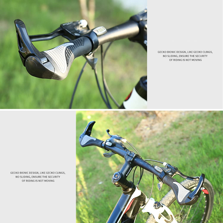 Manillar Bicicleta, Qianyou 2 Ergonómicos Silicona Puños Bicicleta ...