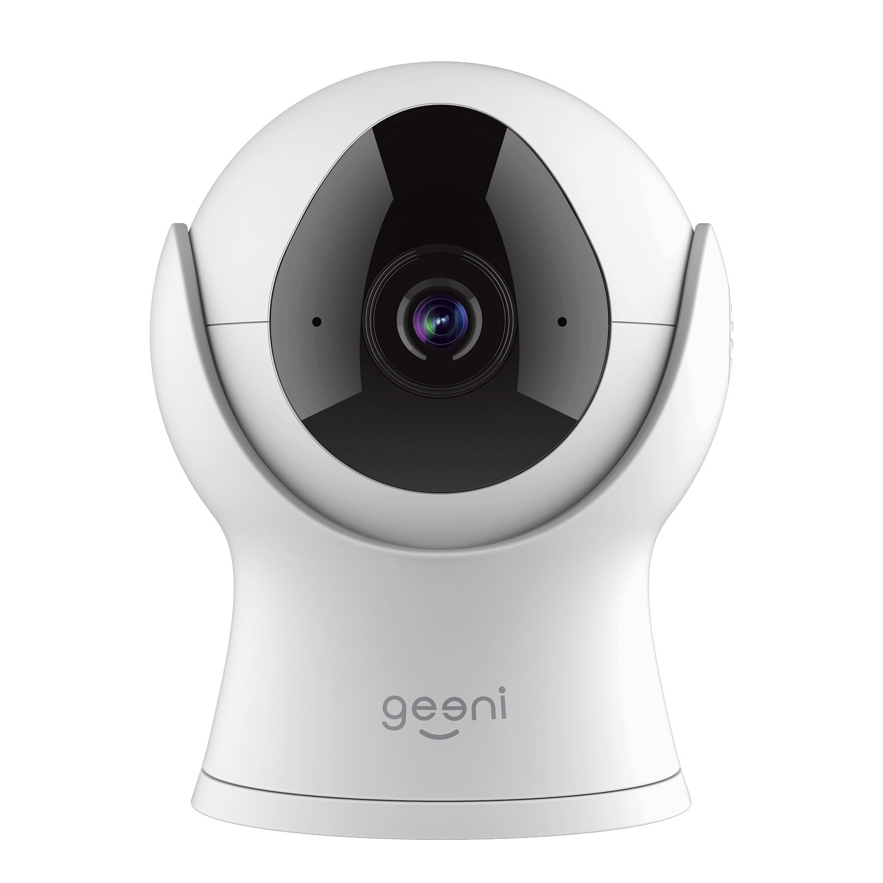 Geeni VISION 1080P Smart Wi-Fi Camera Home Security System - No Hub Required - White