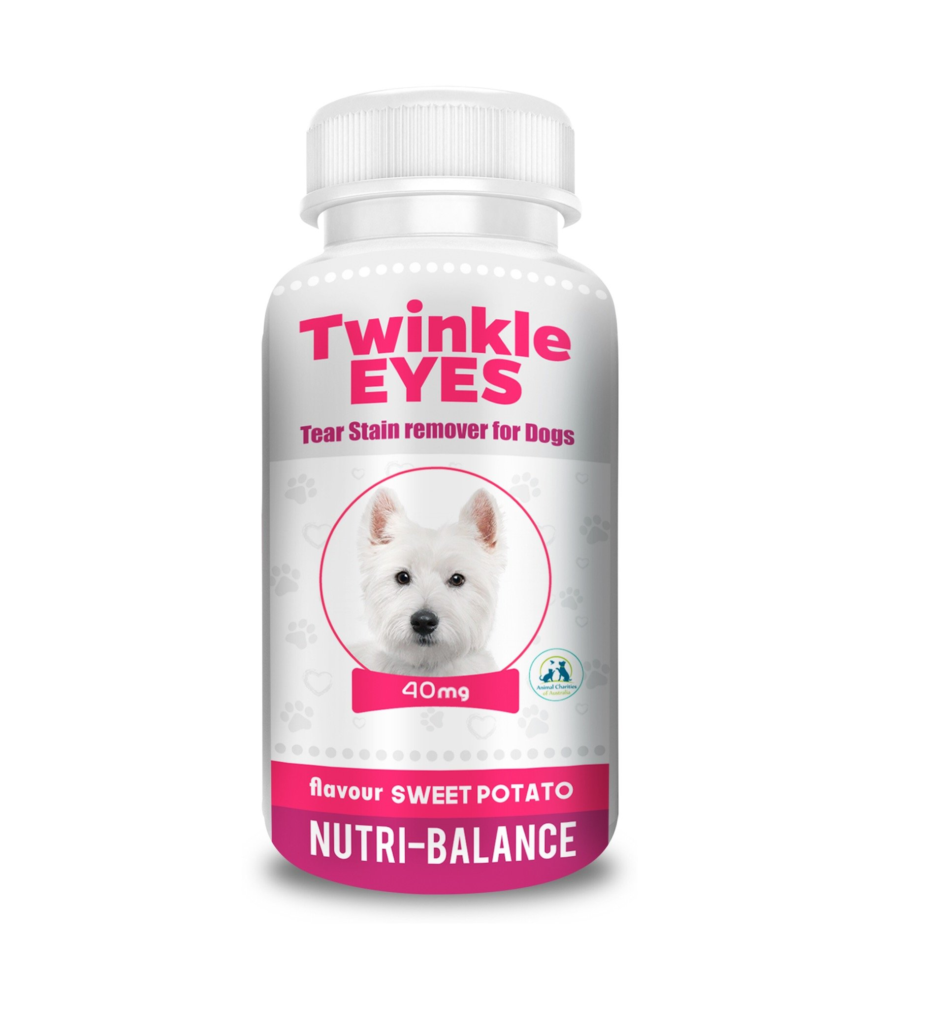 TWINKLE EYES Tear Stain Remover for Dogs - Sweet Potato 40g by TWINKLE EYES