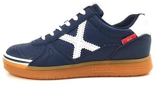 Munich G-3 Kid Profit, Zapatillas de Deporte Unisex niño, (Azul Marino